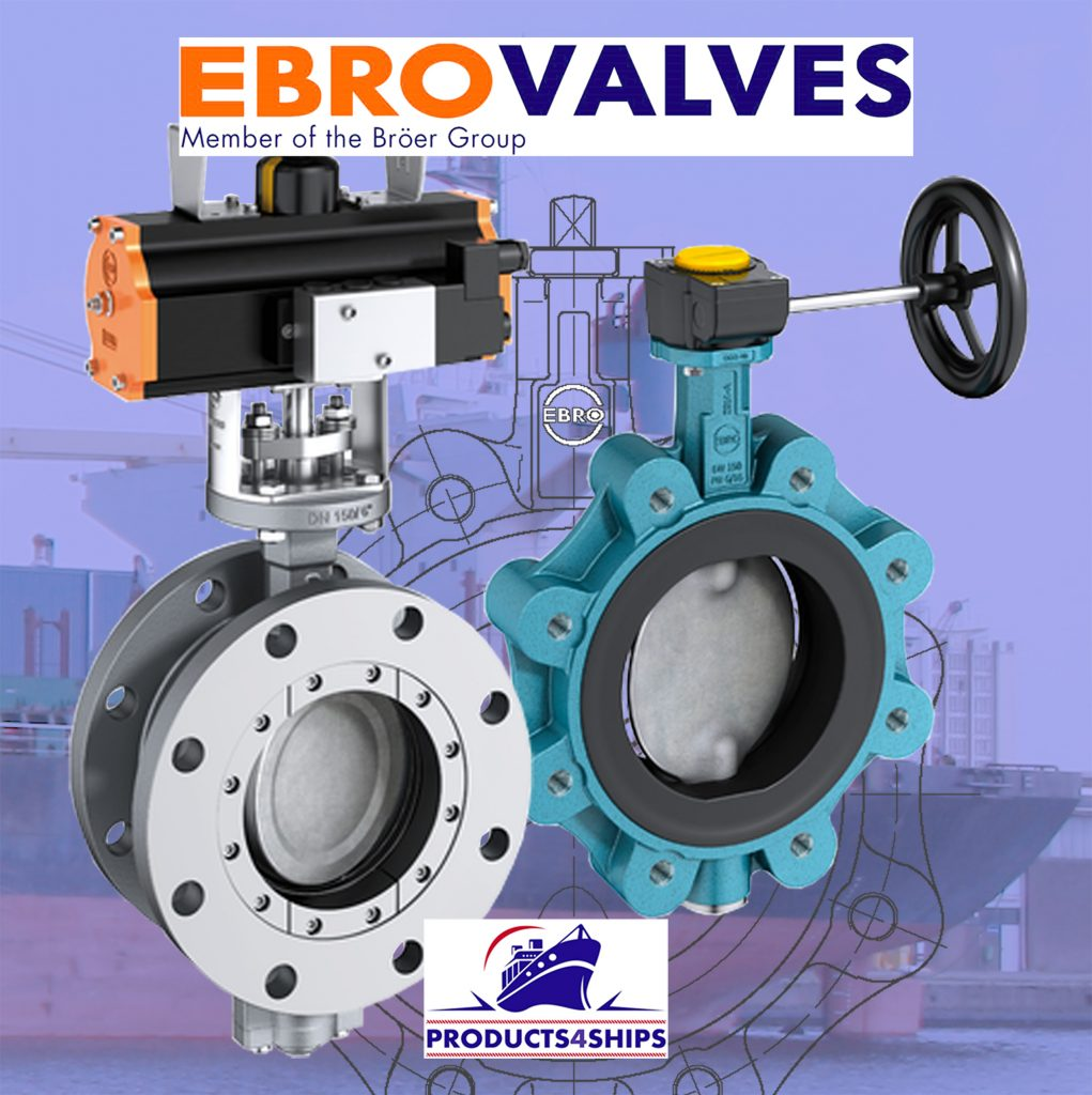 Products4Ships EBRO butterfly valves