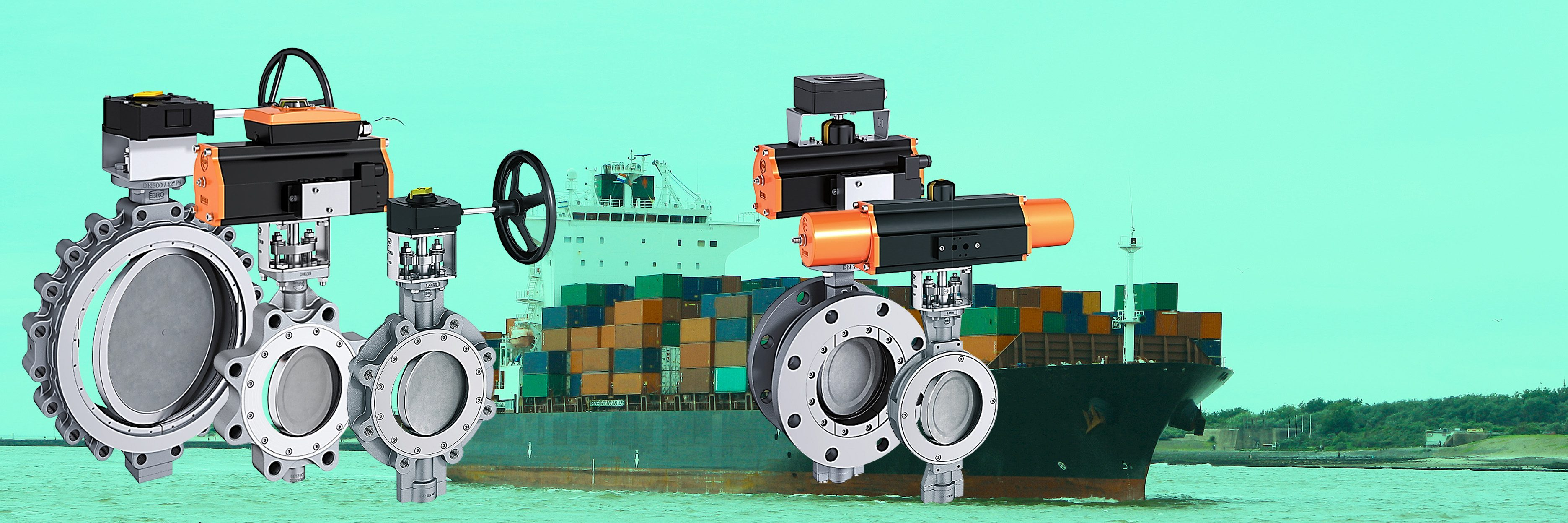 Products4Ships EBRO valves high performance