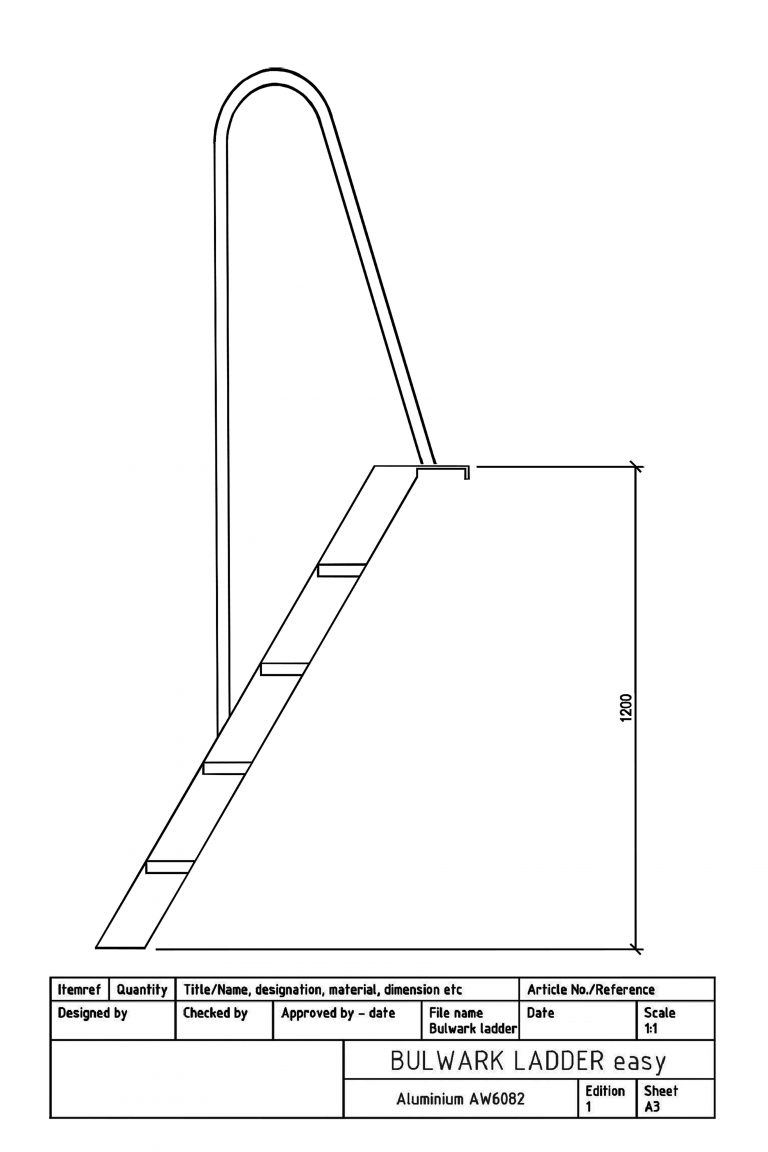 Products4Ships Bulwark ladder Easy