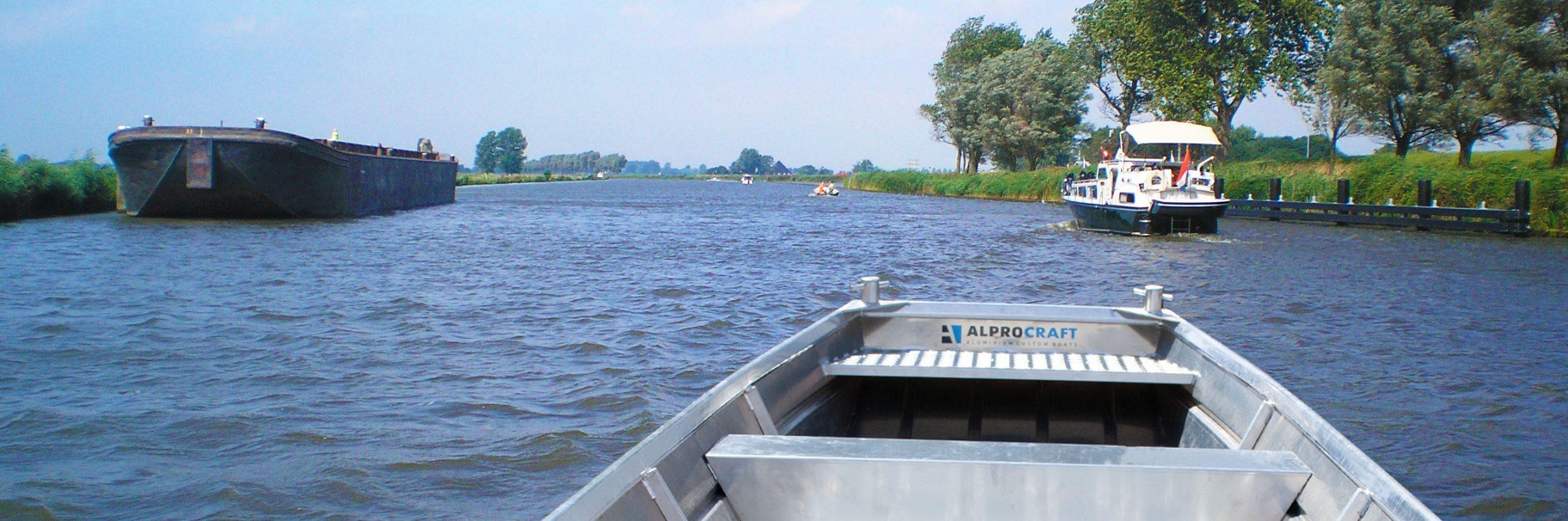 Products4Ships aluminum motor boat (flat bottom)