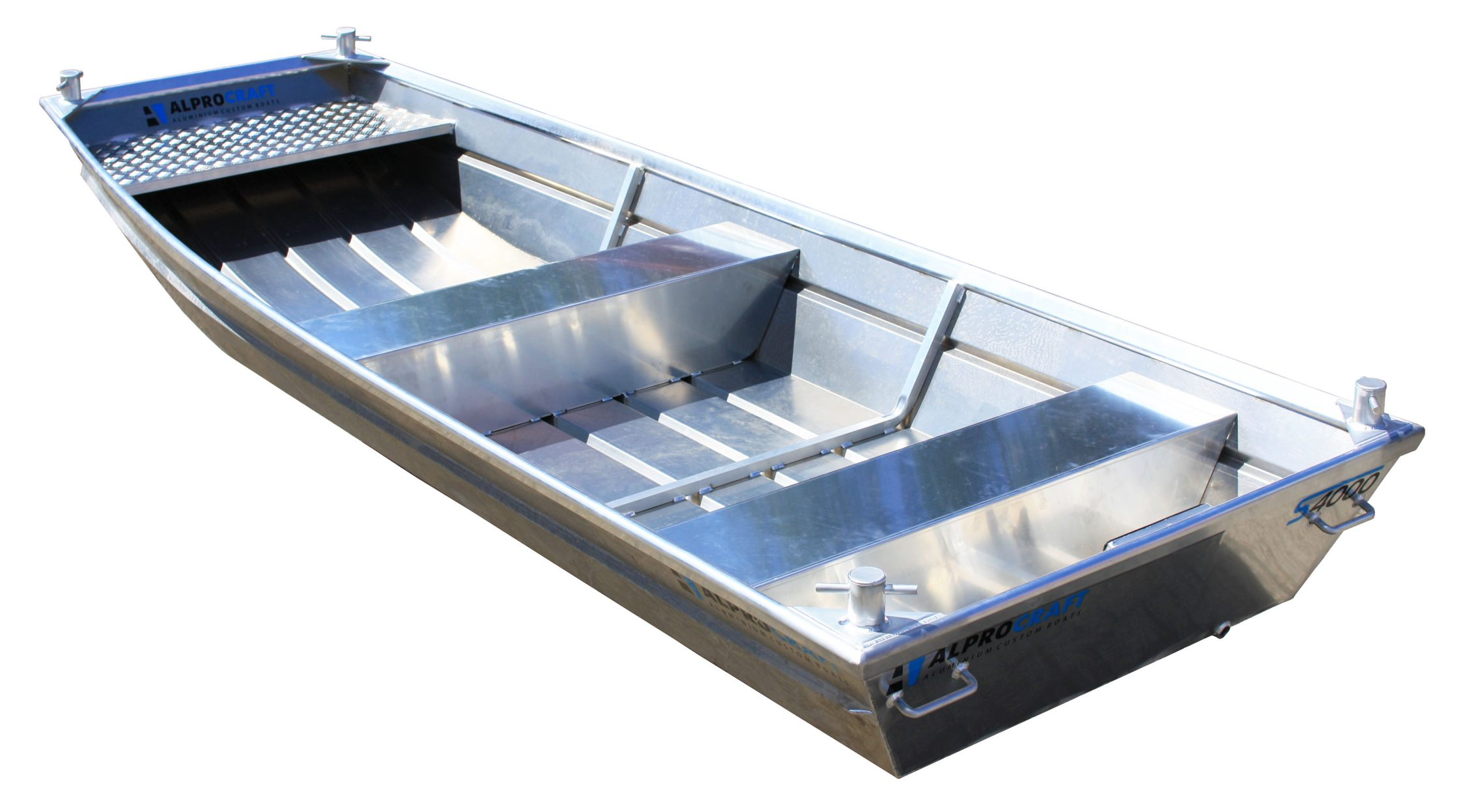 Products4Ships aluminum motor boat (flat bottom) 8-1