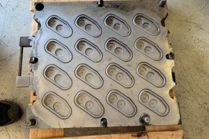 P4S Laser Cleaning rubber mold cleaning