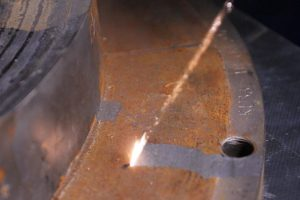 P4S Laser Cleaning Jetlaser rust-removal