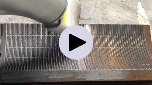 P4S laser cleaning Jetlaser removing of corrosion and dirt